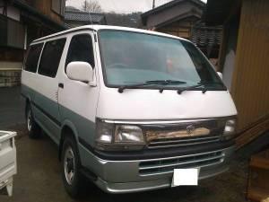 1996 toyota hiace van lh119 sales japan