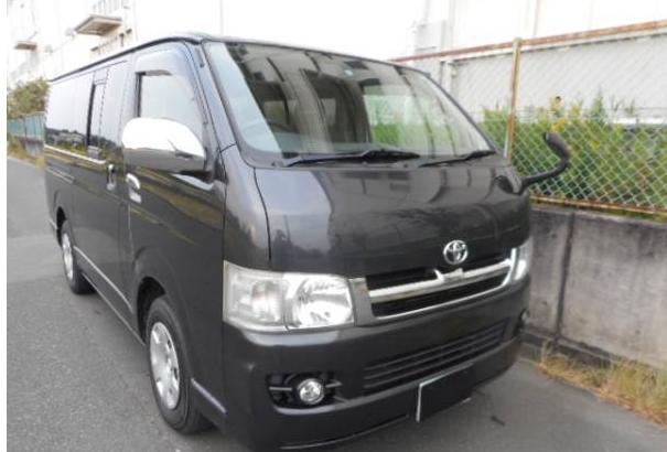 2005 toyota hiace regius ace super gl kdh200 kdh200v 2.5 diesel for sale japan 222k