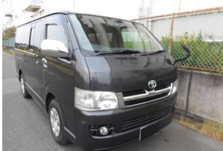 2005 toyota hiace regius ace super gl kdh200 kdh200v 2.5 diesel for sale japan 222k