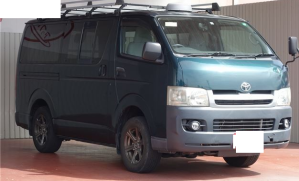 2006 toyota hiace van kdh 205 kdh205 kdh205v 2.5 diesel dx 4wd used van for sale in japan