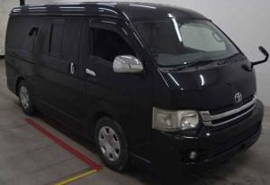 2008 toyota hiace van vans kdh211k kdh 211 kdh211   3.0 diesel super gl used long for sale in japan
