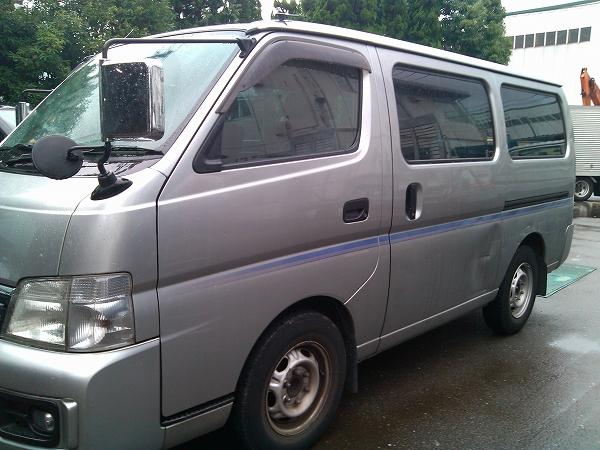 2002 Nissan Caravan Van Sale Vpe25 Jpn Car Name For Sale