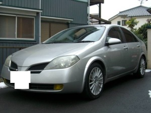 2002 nissan primera hp12 20v sale japan