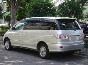 2002 toyota estima hybrid ahr10w sale japan 100k-1