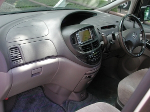 2002 toyota estima hybrid ahr10w sale japan 100k-2