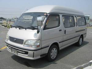 1999 kd-kzh120g toyota hiace grand cabin kzh120 kzh120g diesel for sale japan 175k 10 seat seaters