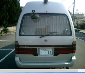 2000 toyota hiace wagon kzh12g 3.0 diesel for sale japan 270-2