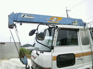 1988 hino boom crane trucks 6.0 diesel for sale japan 150k-3