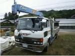 1988 hino boom crane trucks 6.0 diesel for sale japan150k