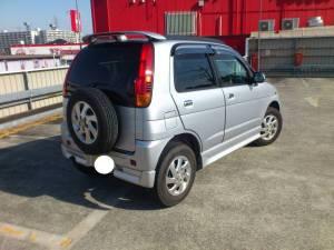 2000 daihatsu terios kid for sale in japan 140k-1