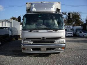 2001 hino ranger fd1j 800k wing body truck full open van open type box for sale japan