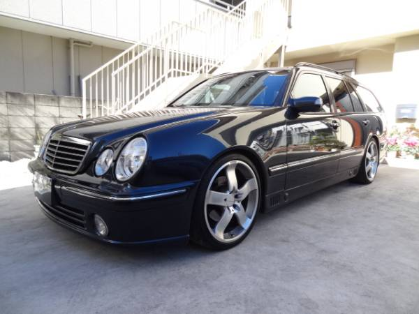 2001 mercedes benz e320 avantgarde wagon for sale in japan jpn car name for sale japan is. Black Bedroom Furniture Sets. Home Design Ideas