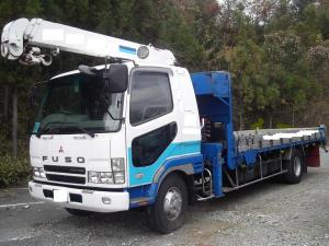 2003 mitsubishi fuso fighter crane truck for sale in japan fk64 6m61 8.2