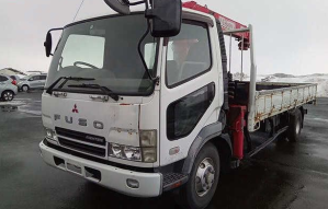 2003 mitsubishi fuso fighter kk-fk71gj fk71gj fk71 fk 71 8.2 diesel crane boom truck trucks for sale in japan