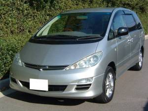 2003 toyota estima aeras g for sale in japan 104k