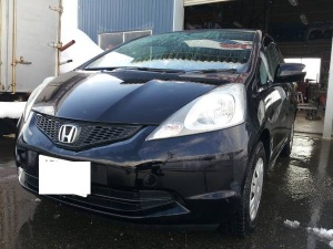 2008 honda fit for sale japan 95k