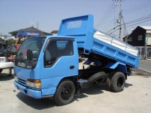 1996 isuzu nkr66ed dump truck tipper sale japan 136k