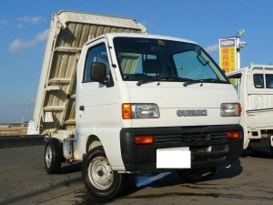 1997 suzuki carry mini dump truck tipper kei for sale in japan 4wd