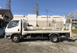 mitsubishi canter 3 tons fe638 fe 638 tuvks for sale in japan