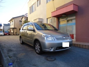 2004 toyota raum g package for sale in japan 74k