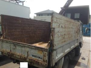 2006 isuzu elf 3 ton tonne tipper dump truck nk81ad for sale in japan 159k-1