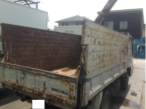 2006 isuzu elf 3 ton tonne tipper dump truck nk81ad for sale in japan 159k-1