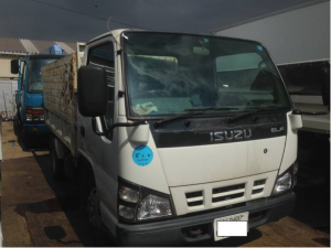 2006 isuzu elf 3 ton tonne tipper dump truck nk81ad for sale in japan 159k