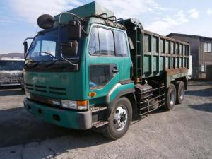 nissan ud cd520 dump truck tipper for sale japan 10 ton