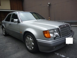 1993 mercedes benz 500e for sale japan 24k
