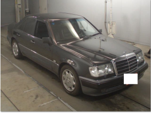 1993 mercedes benz e500 160k sale japan