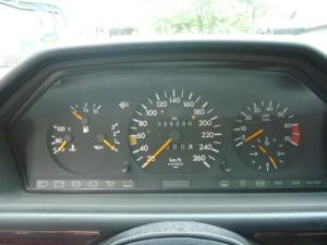 1993 mercedes w124 24,000km