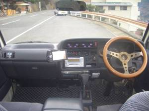 1995 toyota hiace super long wheelbase van for sale japan 170k diesel LH123-2