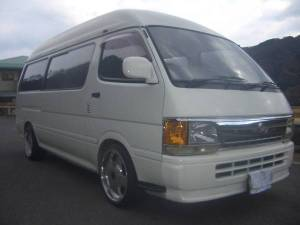 1995 toyota hiace super long wheelbase van for sale japan 170k diesel LH123