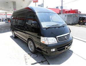 1996 toyota hiace super long wheel base kzh132v 3.0 diesel for sale in japan 288k