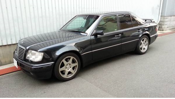 1993 mercedes benz w124 500e e500 for sale japan jpn car for Mercedes benz e500 for sale