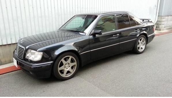 1993 mercedes benz w124 500e e500 for sale japan jpn car for 2004 mercedes benz e500 for sale