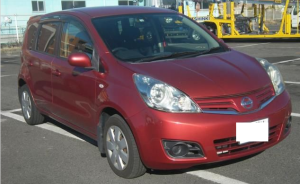 2000 nissan note 1.5 15x AT 120k for sale in japan used cars e11
