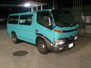 2000 toyota dyna root van sale japan bu306 3.7 diesel