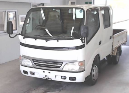 2004 toyota dyna ly230 double cab cabin truck trucks 3.0 diesel manual for sale in japan 260k