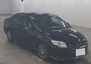 2009 toyota corolla axio GT trd turbo for sale in japan
