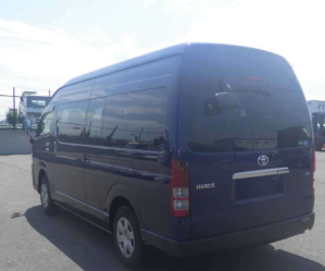 2016 4wd toyota hiace commuter bus super long GL Japan