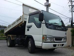 2003 isuzu elf tipper dump truck nkr66ed sale japan 89k-1