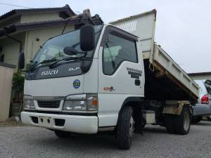 2003 isuzu elf tipper dump truck nkr66ed sale japan 89k