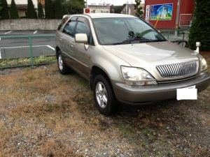 1999 toyota harrier 3.0 multi mcu10w 67k sales japan