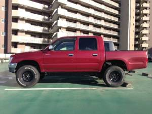 1999 toyota hilux double cab rzn147 sales japan-1