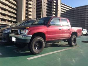 1999 toyota hilux double cab rzn147 sales japan