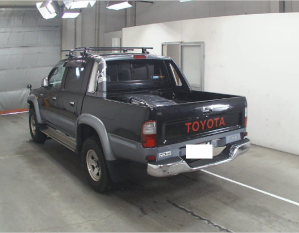 toyota hilux sports pickup trucks rzn169h for sale in japan
