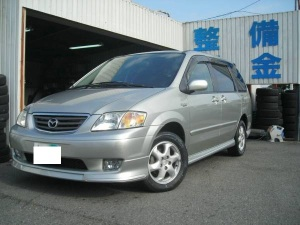 2001 mazda mpv lw5w 2.5 navigation tv sales japan 78k