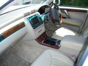 2003 toyota crown majesta 4.0 sales japan 138k jzs173 navigation-2