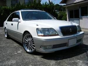 2003 toyota crown majesta 4.0 sales japan 138k jzs173 navigation